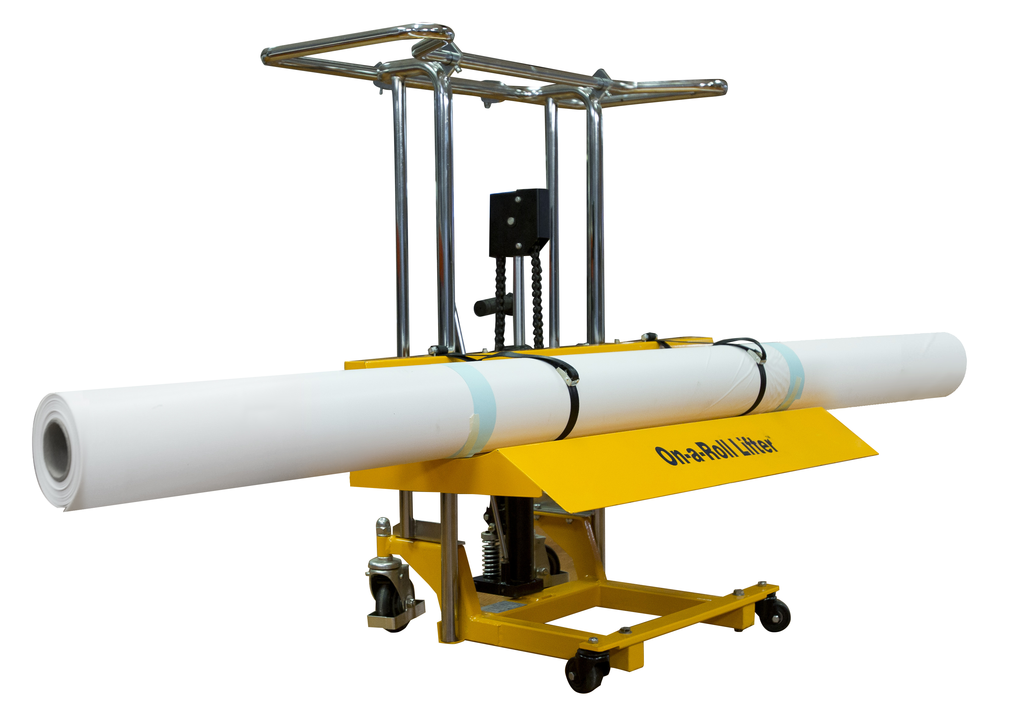 Ergonomic Lifting Of Rolls : On a roll lifter standard plus models foster